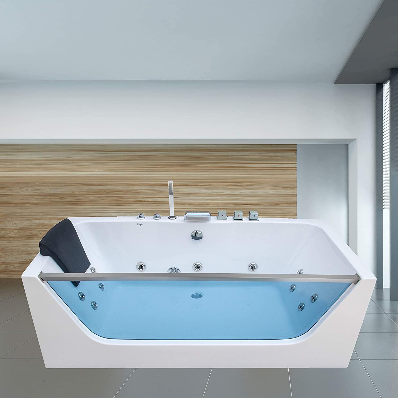 Best acrylic alcove soaking tub