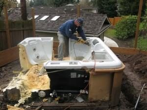 Disassemble the Hot Tub and Reassemble It later