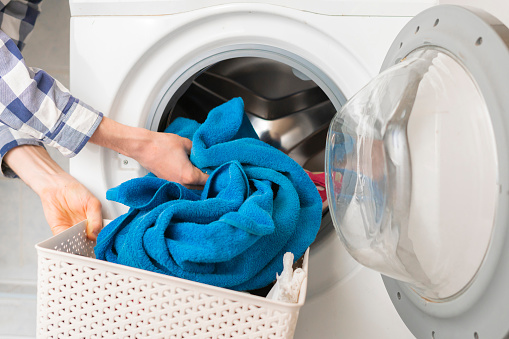 How to get mold out of front load washer