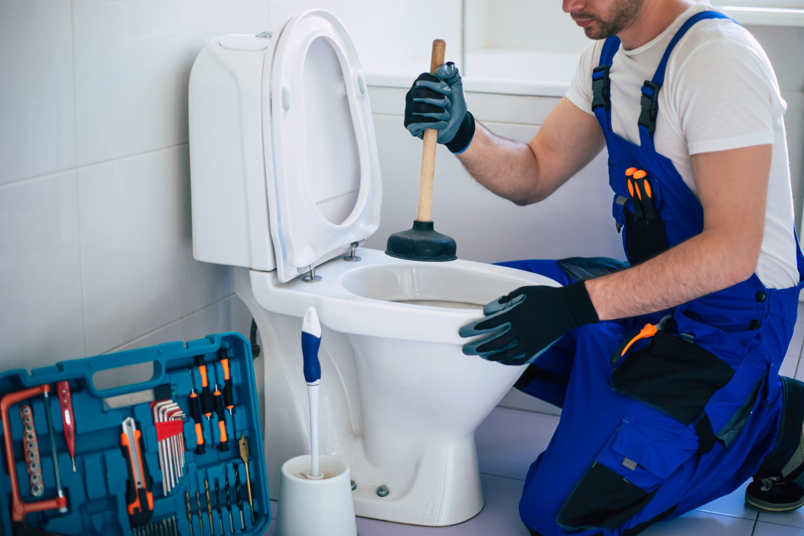 Can a Clogged Toilet Fix Itself