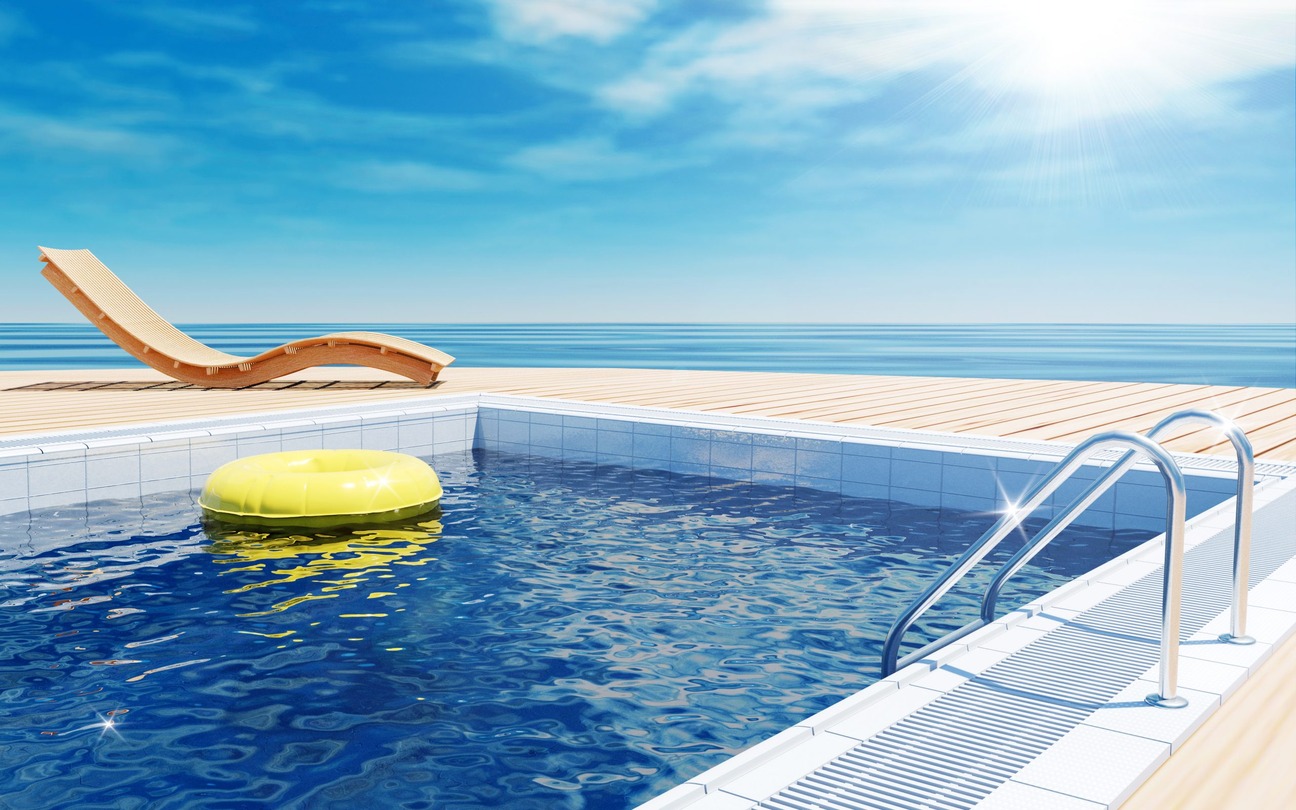 How To Make My Pool Water Blue