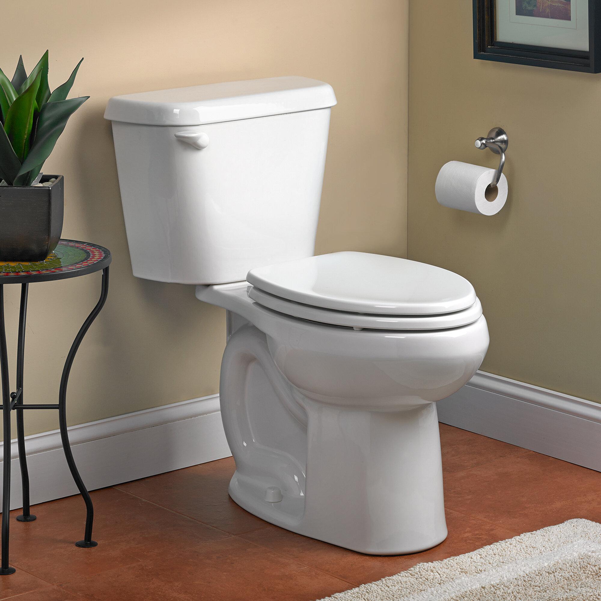 Quiet Flush Toilet